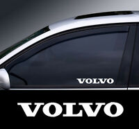2 x Volvo Window Decal Sticker Graphic *Colour Choice*(2)