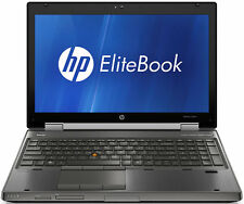 HP Elitebook 8560w Workstation |  Core i7 2.3GHz | 8GB | 320GB | Windows 7 Pro