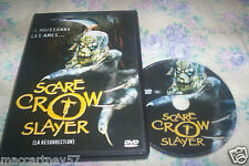DVD SCARE CROW SLAYER LA RESURRECTION FILM D'HORREUR