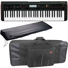 Korg Kross 61-Key USB Keyboard Synth Workstation Piano w/ Bag & Stretch Cover