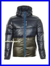New L = Reebok Mens Hooded Padded Down Winter Outdoor skiing Jacket- Large