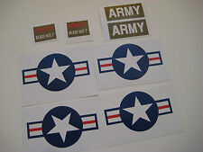 G.I Joe - Irwin Helicopter Stickers -B2G1F
