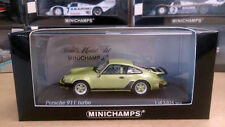Minichamps 1/43 Porsche 911 Turbo 1977 light green metallic