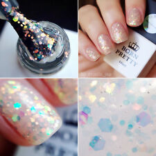 10ml Born Pretty Nail UV Gel Polish Soak Off Colorful Glitters LED Varnish  #011