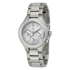 DKNY Multi-Function Silver Dial Stainless Steel Ladies Watch NY2394