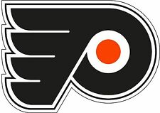 "Philadelphia Flyers NHL Hockey  bumper sticker decal 3.5"" x 5"""