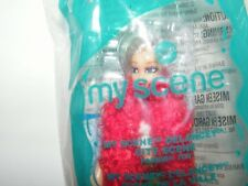 2004 McDonalds Barbie My Scene #8 My Scene Delancey City Scene Fashion Doll NIP