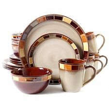 Gibson Casa Estebana 16-piece Dinnerware Set Service for 4, (70736.16RM) NEW