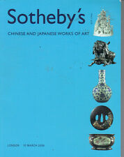 SOTHEBY'S LONDON CHINESE JAPANESE CERAMICS JADE IVORY CARVING BRONZES Catalog 05