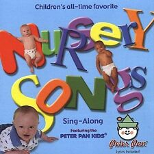 Nursery Songs Peter Pan Kids CD Children's All-time Favorite Singalong - Lyrics