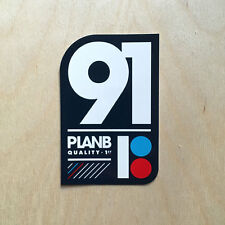 Plan B skateboard sticker decal bumper 1991 Danny Way Chris Joslin Torey quality