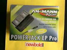 Ansmann Racing Powerjack EP Pro RC Charger For Transmitter & Car Battery Packs.