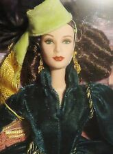 NRFB BARBIE~ GONE WITH THE WIND GREEN DRAPERY SCARLETT O'HARA TIMELESS TREASURES