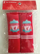 NWT LIVERPOOL CLUB Car Accessory : 2 pieces Seat Belt Covers Shoulder Pads