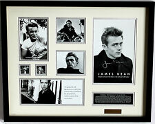 New James Dean Signed Limited Edition Memorabilia Framed