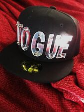 New Madonna CRYSTAL MIRROR Rare Black VOGUE Hat Baseball Cap Sex Promo Sticker