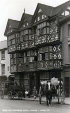 Feathers Hotel Ludlow Horse & Cart sepia unused RP old postcard Judges 7579