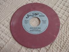 JESSE FORTUNE/BUDDY GUY  HEAVY HEART BEAT/TOO MANY COOKS JEWEL 873 PURPLE VINYL