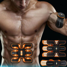 EMS Muscle Training Gear Abs Training Fit Body Home Exercise Shape Fitness