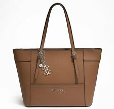 NEW GUESS COGNAC DELANEY CLASSIC TOTE BAG  HANDBAG PURSE