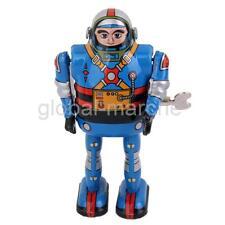 Jouets Mécaniques Anciens Astronaute Métal Collection Cadeau Enfant