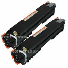 2pk  Black Toner Cartridge For HP CE310A 126A LaserJet CP1025nw M175nw M275