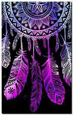 """Beautiful Dreamcatcher CANVAS ART PRINT spiritual Native Pink poster 24""""X16"""""""
