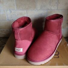 UGG Classic Mini Boots Redwood Suede Sheepskin Boots US 9 Womens #1005854