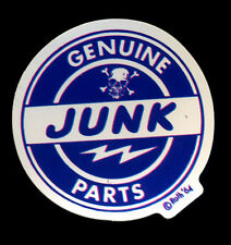 Genuine Junk Parts Sticker Hot Rod Drag race Motorcycle Ed Roth