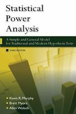 Statistical Power Analysis : A Simple and General Model for Traditional and Mode
