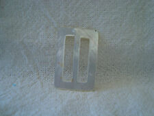 Vintage Rectangle Mother of Pearl Buckle (1)
