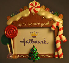 Hallmark: Limited Edition Embellishment - Santa, I've Been Good - Photo Holder
