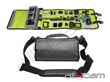 Roll Up Case Shoulder Bag for GoPro HERO 3 3+ 4 5 Canvas Travel Camera Case
