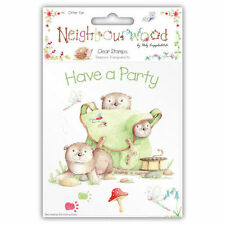 Neighbourwood Otter Fun Clear Stamps by Helz Cuppleditch / Claros Sellos Nutria