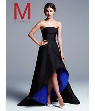 Mac Duggal Strapless High/Low Gown Sz 6 -  $398