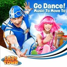 LAZY TOWN-Go Dance! CD NEW