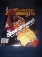 LOS ANGELES LAKERS KOBE BRYANT SIGNED S.I. MAGAZINE JUNE 2000 ULTRA RARE! PROOF!