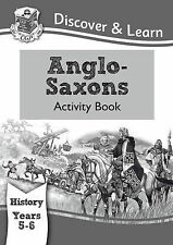 KS2 Discover & Learn: History - Anglo-Saxons Activity Book, Year 5 & 6, CGP Book