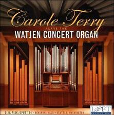 Carole Terry plays the Watjen Concert Organ, New Music