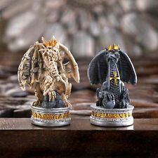 Black Tower Dragon Chess Set Board Battle Game Collection