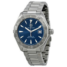 Tag Heuer Aquaracer Automatic Blue Dial Steel Mens Watch WAY2112.BA0910