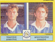N°401 PLAYER PAS GIANNINA FC GREECE PANINI GREEK LEAGUE FOOT 95 STICKER 1995