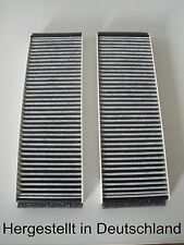 Set Active charcoal filter Audi A6 ( C6, 4F2, 4FH, 4F5 ) Cabin/pollen Filter