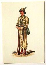 Cartolina Serie Uniformi Storiche 5° Reggimento Alpini - N.15 Caporale Degli