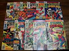 L0140: Spectacular Spider-Man #1//16; VF; (11) Comics