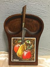 Vintage Servwood by Styson Fruit and Cheese Tray
