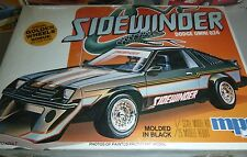 MPC 1981 DODGE OMNI O24 SIDEWINDER VINTAGE MODEL CAR MOUNTAIN 1/25 FS