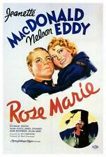 ROSE MARIE Movie POSTER 27x40 Jeanette MacDonald Nelson Eddy James Stewart Allan