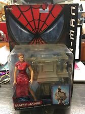 SPIDER-MAN MARY JANE ACTION FIGURE OFFICIAL MOVIE MERCHANDISE-TOY BIZ 2002 NIB