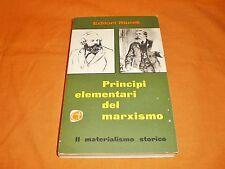 principi elementari del marxismo il materialismo storico  2° tomo 1960 br. cucit